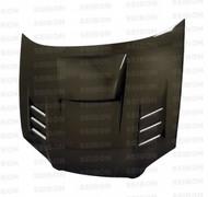Seibon CWII Style CARBON FIBER HOOD SUBARU IMPREZA / WRX / STI (GDA/B/F OR GGA/E)* 2004-2005