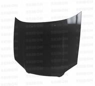 Seibon RS Style CARBON FIBER HOOD SUBARU IMPREZA / WRX / STI (GDA/B/F OR GGA/E)* 2004-2005