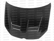 Seibon DV Style CARBON FIBER HOOD VOLKSWAGEN GOLF GTI (5K OR MK6) 2010-2011