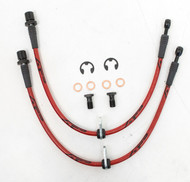 Agency Power Front Steel Braided Brake Lines - Scion FR-S / Subaru BRZ