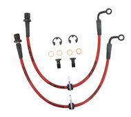 Agency Power Rear Steel Braided Brake Lines - Scion FR-S / Subaru BRZ