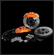 "Ksport Rear SuperComp 16"" 8 Piston Big Brake Kit for Scion FRS / Subaru BRZ"