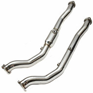 INVIDIA Downpipe Pipe for Mitsubishi Evo X