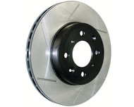 StopTech Power Slot Slotted Front Rotors (Pair) for Honda CRZ