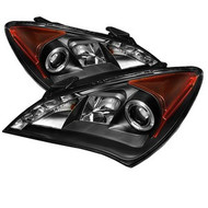 Spyder Headlights for Hyundai Genesis Coupe '10-'12