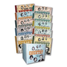 Golden Age Of Country 18 CD Super Collection by Time Life FREE Collectors Box!