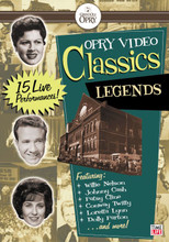 Opry Video Classics: Country Legends 1 DVD
