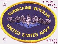 Submarine Veteran patch