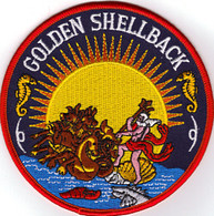 Golden Shellback Patch