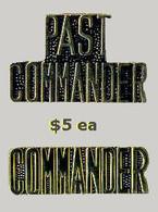 Commander Pins