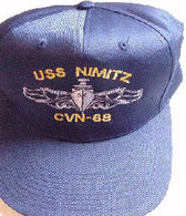 Ballcap, Surface Warfare Hat-custom embroidered
