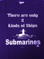 Two Types of ships, Submarines & Targets front in Navy