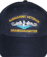 Submarine Granddaughter ballcaps