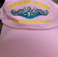 Submarine Great Granddaughter ballcaps