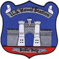 US Naval Station SUBIC BAY Patch