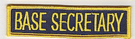 Base Secretary patch