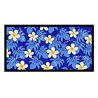 Blue Plumeria Beach Towel