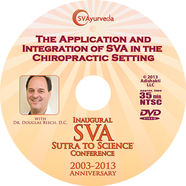 SVA Conference DVD - The Application and Integration of SVA in the  Chiropractic Setting