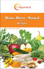 """The science of Ayurveda is not man-made knowledge, it is made by the creator of this universe. It is the 'maintenance manual' for the human body, thus it is never outdated.""   With Vaidya's simple and easy to follow Home-Detox Manual you can chose from daily, weekly, or monthly detox protocols."