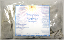 SVA Soapnut and Vetiver Detergent set of 5 Sm. pouches and 5 Lg. pouches