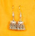 SVA Sterling Silver Jhumki Earrings - Currently out of stock