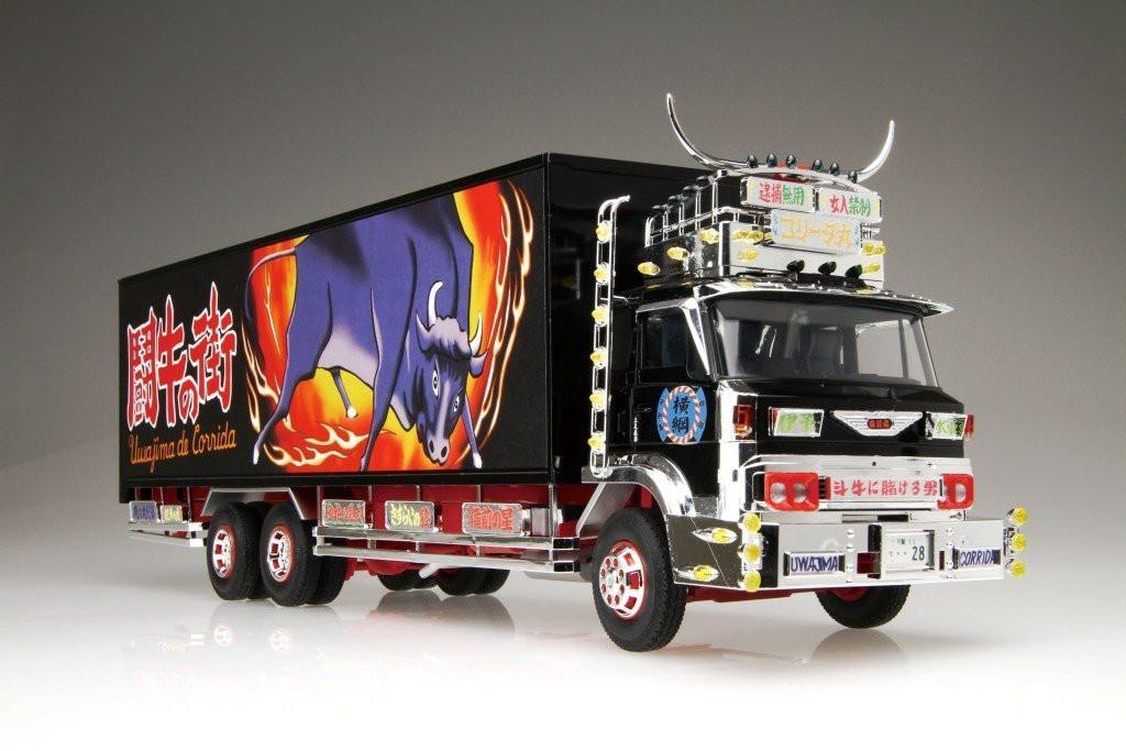 Aoshima 01790 Japanese Decoration Truck Shiina Line Express CORRIDA 1/32 scale kit