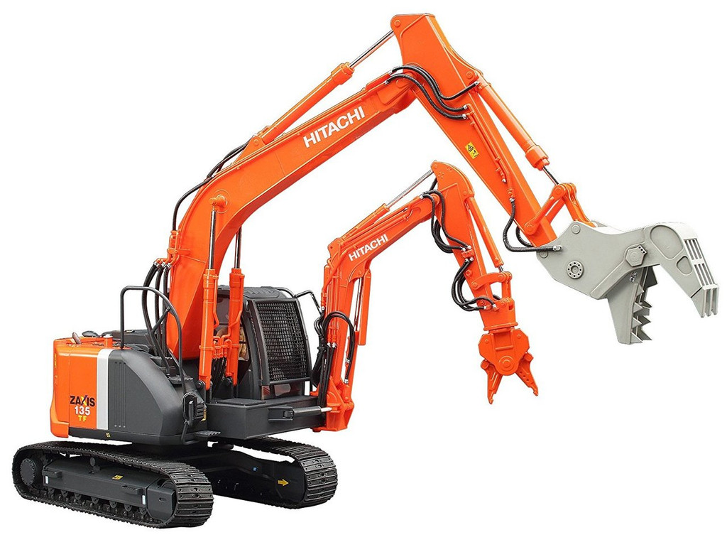 Hasegawa SP361 Double Arm Working Machine Astaco NEO Crusher / Steel Cutter 1/35 scale kit