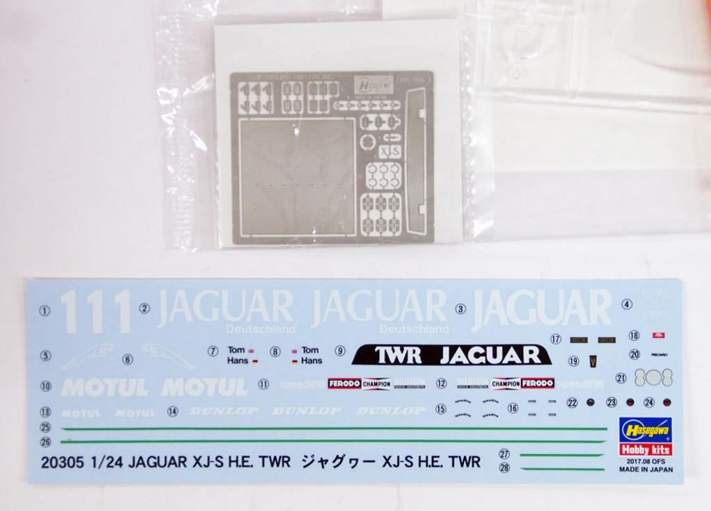 Hasegawa 20305 Jaguar XJ-S H.E. TWR 1/24 scale kit