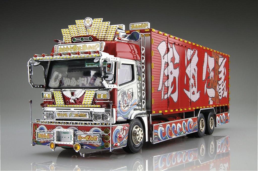 Aoshima 52884 Japanese Decoration Truck Mister X 1/32 Scale Kit