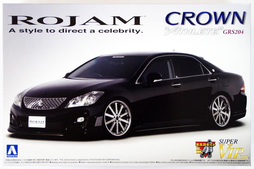 Aoshima 49402 Toyota Crown Athlete (GRS204) ROJAM 1/24 scale kit