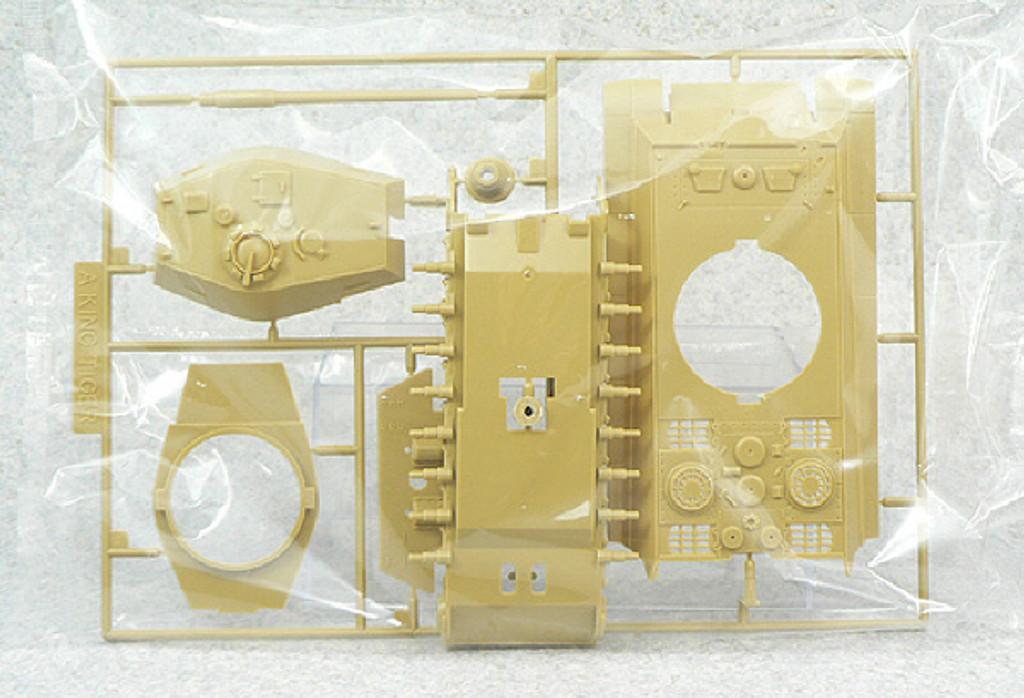 Aoshima 48665 RC AFV Series No. 11 German Army Heavy Tank King Tiger 1/48 Scale Kit