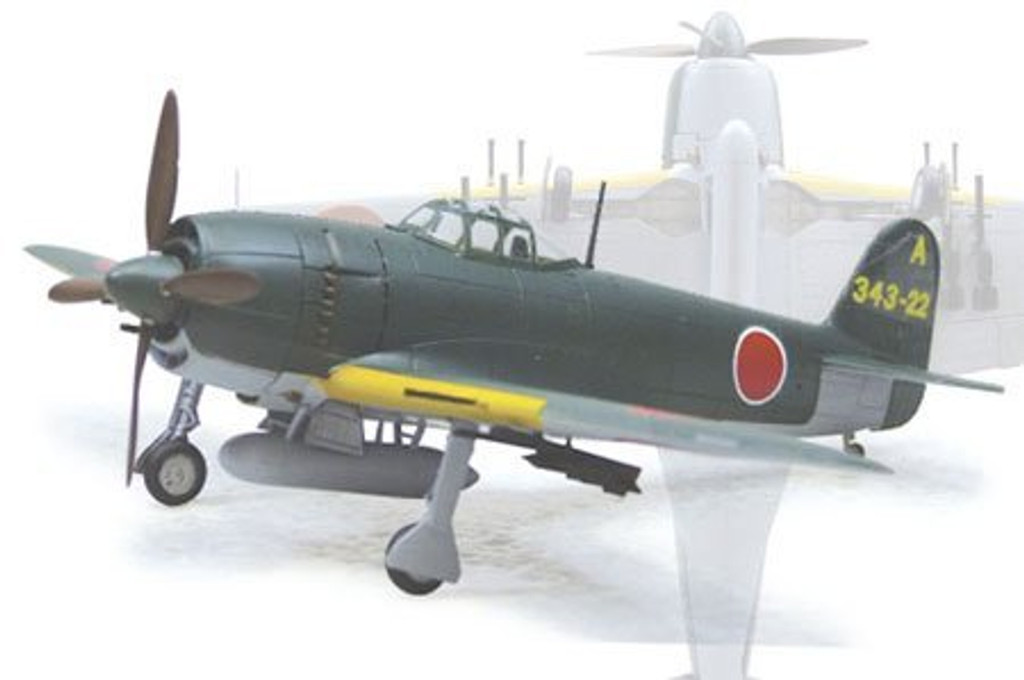 Aoshima 11720 Kawanishi N1K2-Ja Shiden Kai with Rocket Launcher 1/72 Scale Kit