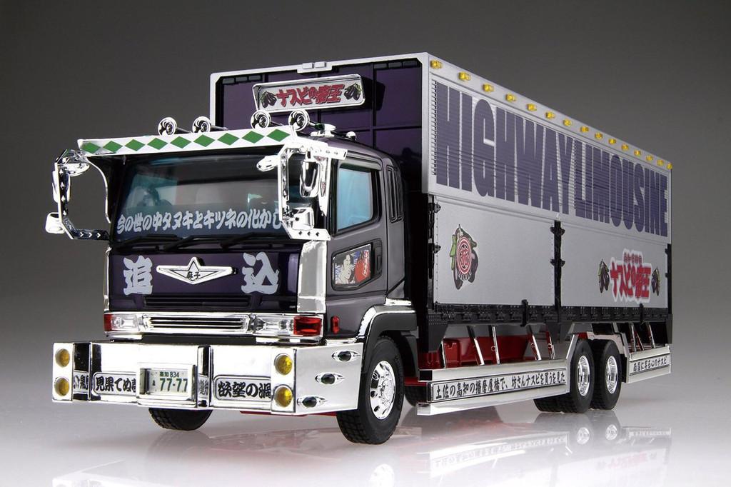 Aoshima 26311 Japanese Decoration Truck Nasubi no Teioh 1/32 Scale Kit