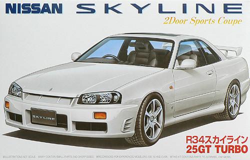 Fujimi ID-16 Nissan Skyline 25GT Turbo (R34) 1/24 Scale Kit