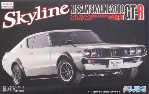 Fujimi ID-121 Nissan Skyline GT-R KPGC110 1/24 Scale Kit