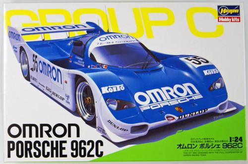 Hasegawa 20280 Omron Porsche 962C 1/24 Scale Kit