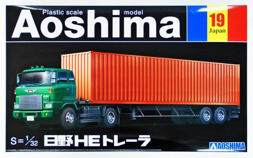 Aoshima 09895 Hino HE Trailer 1/32 scale kit