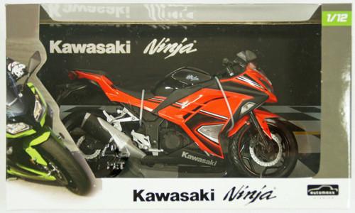 Aoshima Skynet 80917 kawasaki Ninja250 Orange SE 1/12 scale