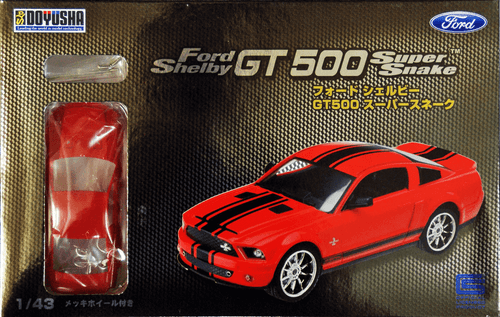Doyusha 002254 Ford Shelby GT 500 Super Snake 1/43 scale plastic model kit