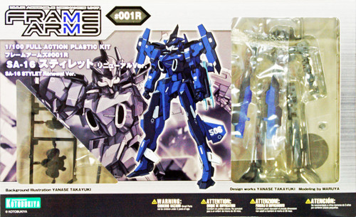Kotobukiya FA029 Frame Arms SA-16 Stylet Renewal Version 1/100 Scale Kit