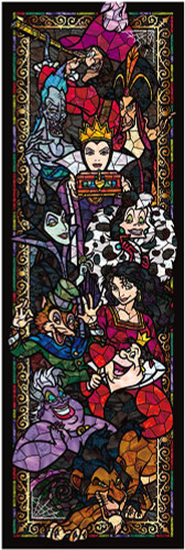 Tenyo Japan Jigsaw Puzzle DSG-456-730 Disney Villains (456 Small Pieces)