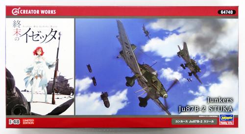 Hasegawa 64740 Shuumatsu no Izetta Junkers Ju87B-2 Stuka 1/48 scale kit