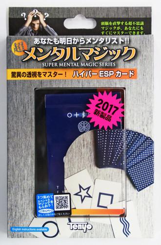 Tenyo Japan 116722(E) Hyper ESP Card (Magic Trick)