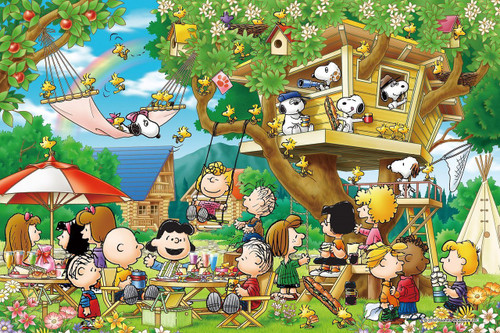 Epoch Jigsaw Puzzle 11-558s Peanuts Snoopy Tree House (1000 Pieces)