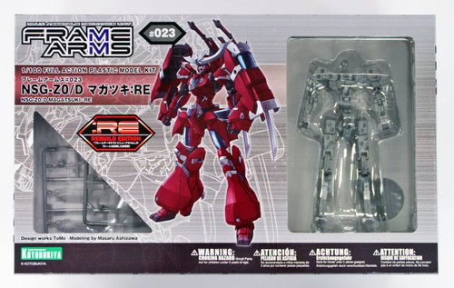 Kotobukiya FA062 Frame Arms NSG-Z0/D Magatsuki :RE 1/100 Scale Kit