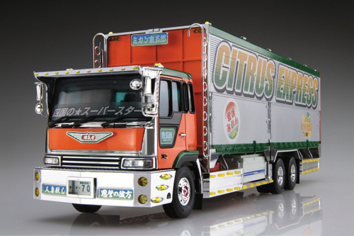 Aoshima 52075 Japanese Decoration Truck Mikan Mitsugoro 1/32 scale kit