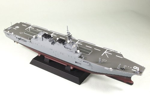 Pit-Road Skywave JP-03 JCG Escort Ship Carrying Helicopter DDH-181 Hyuga 1/700 scale kit