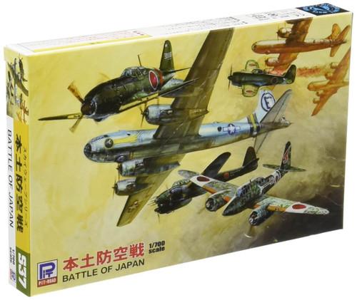 Pit-Road Skywave S-37 Battle of Japan Aircract Set 1/700 Scale Kit