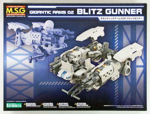Kotobukiya MSG Modeling Support Goods GT002 Gigantic Arms 02 Blitz Gunner