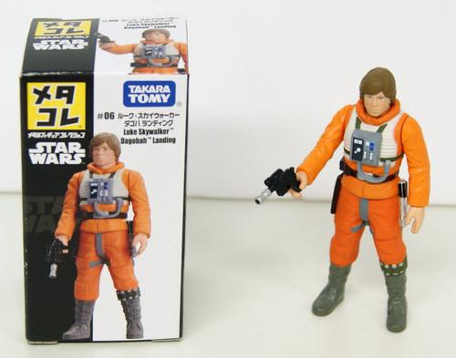 Takara Tomy Disney Star Wars Metakore Metal Figure #06 Luke Skywalker 828778